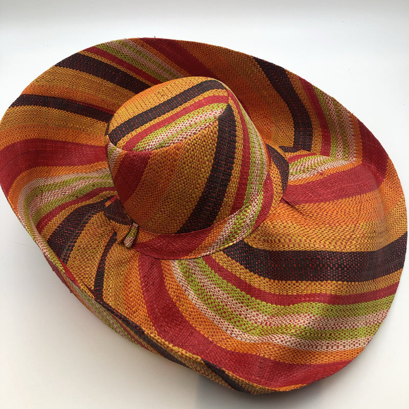 Meena Stripes Summer Hat - Trufacebygrace