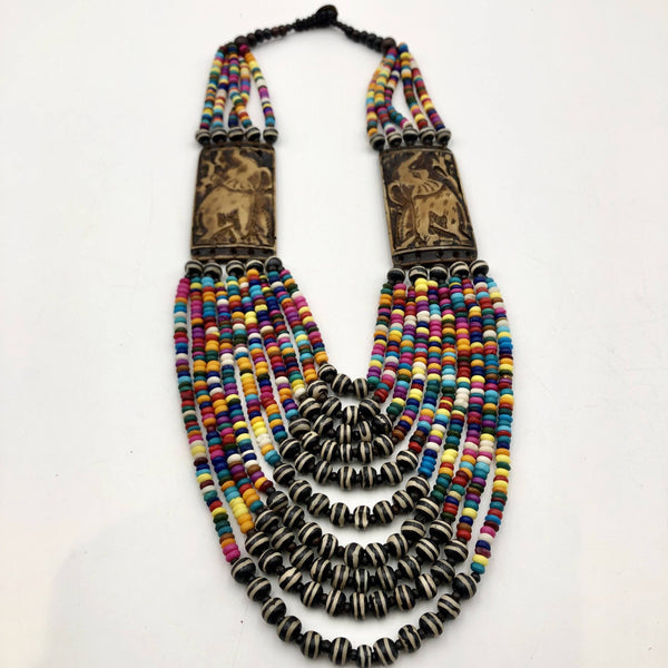 Naa Serwa necklace and bone - Trufacebygrace