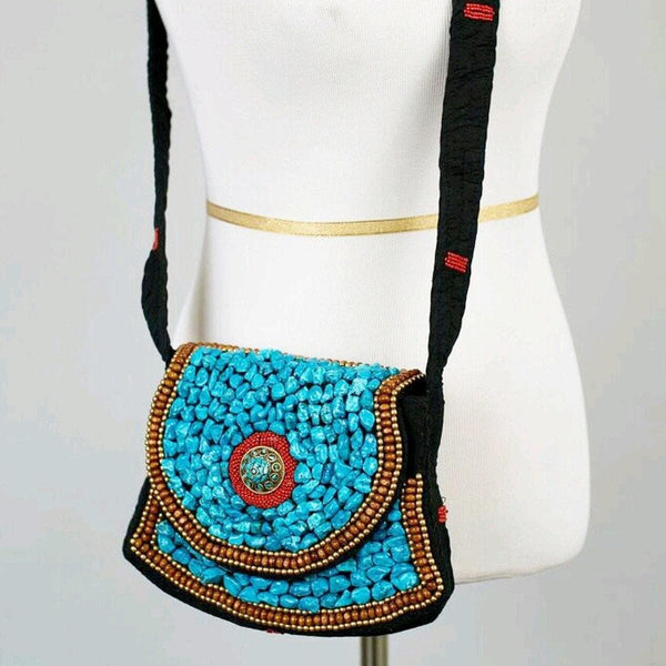 Zvi beaded bag - Trufacebygrace
