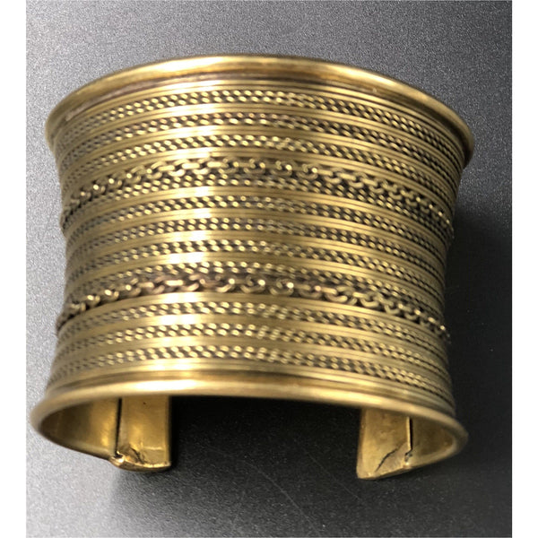 Small Brass Cuff / Bangle - Trufacebygrace