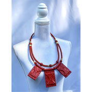 Barima leather Necklace - Trufacebygrace