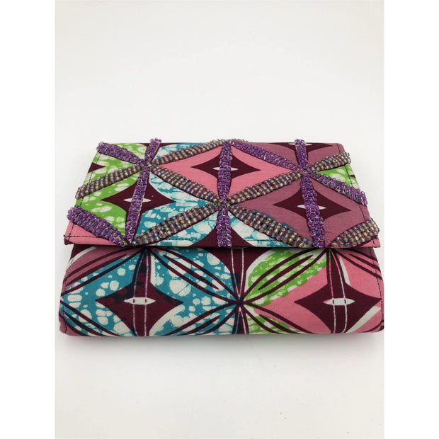 Beaded Ankara Clutch - Trufacebygrace