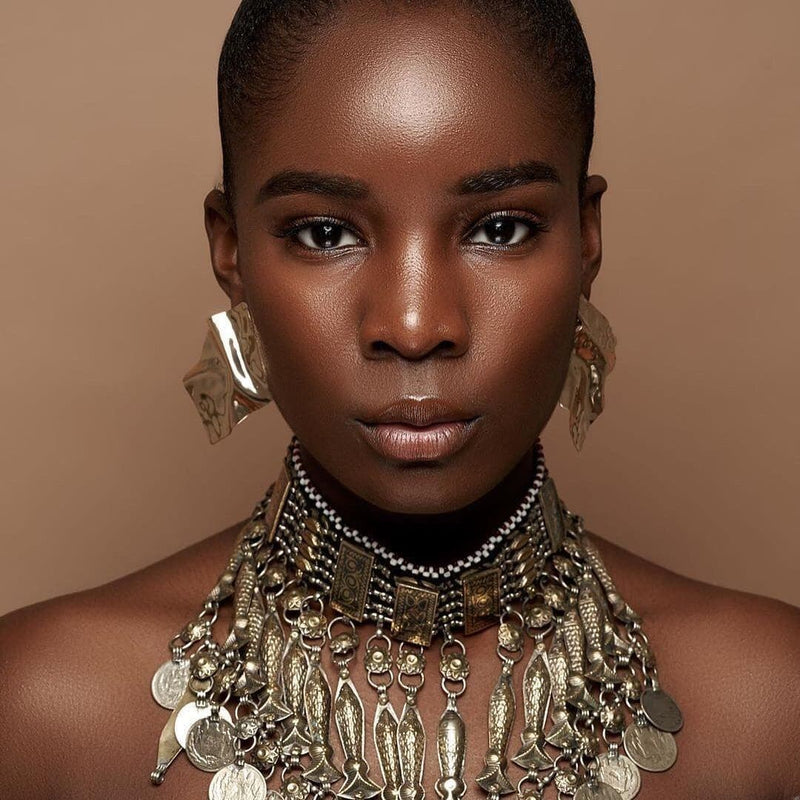Uneven Gold Earrings - Trufacebygrace
