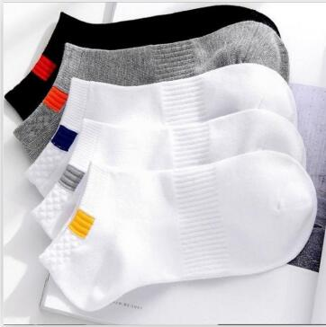 10pieces=5pair/lot Summer Cotton Man Short Socks Fashion Breathable Man Boat Socks Comfortable Casual Socks Male