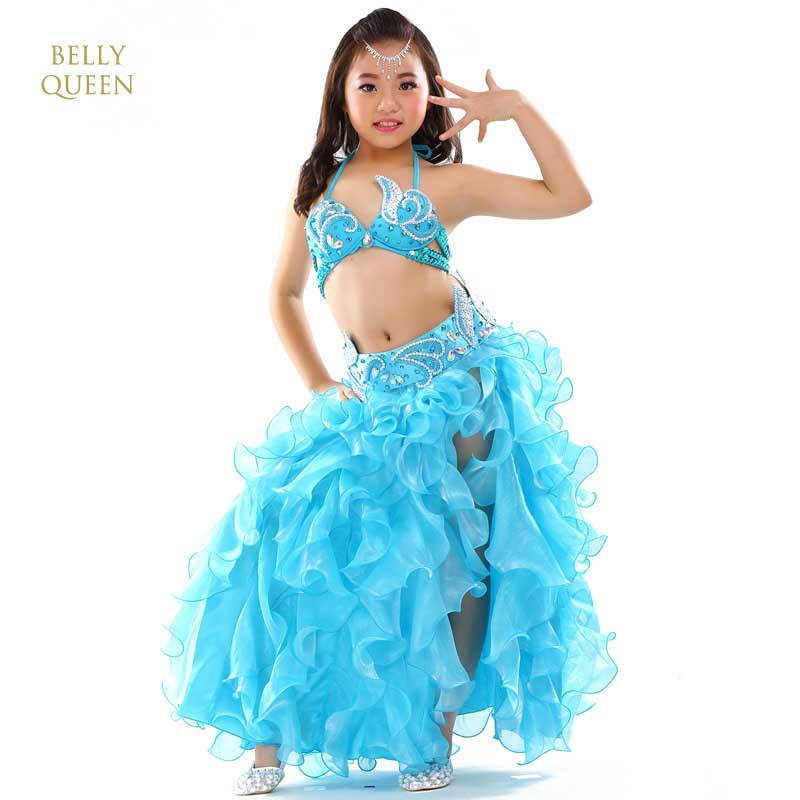 2019 Girls Belly Dance Costume Child Bollywood Dance Costumes Children Indian Clothing Dresses Bellydance Kids Bellydancer 3pcs
