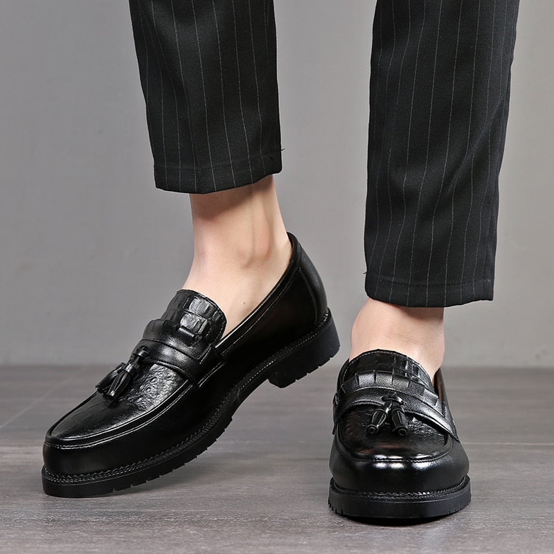 2019 Men Dress shoes formal shoes men's Handmade business shoes wedding Leather Men Oxfords shoes
