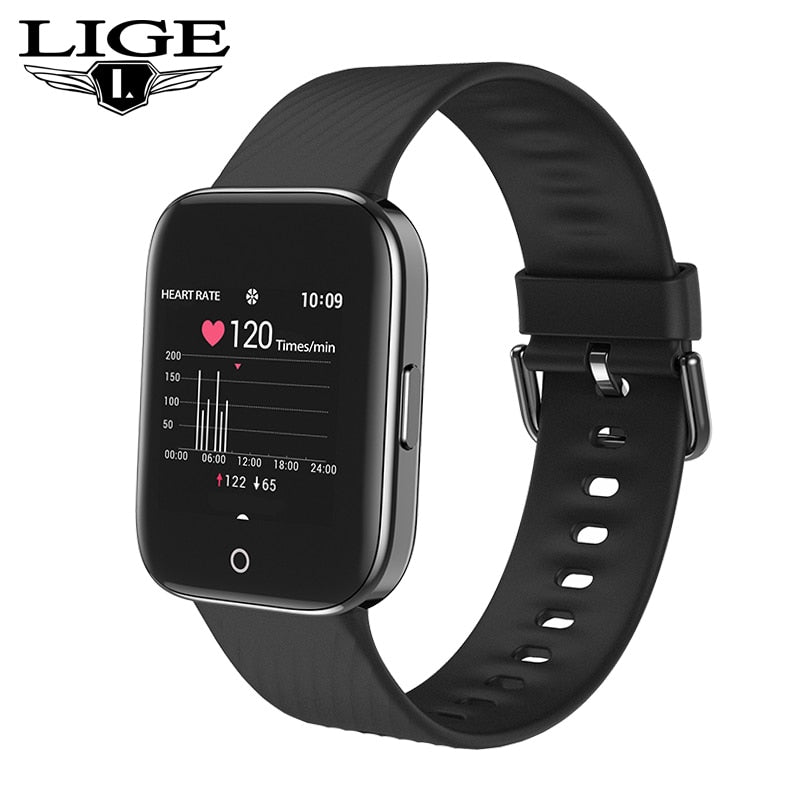 2019 New Smart Watch Men Woman Sport Heart Rate Monitor IP68 Waterproof SmartWatch Call Reminder Fitness Watches For Android IOS