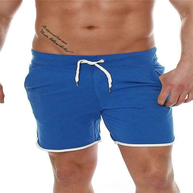 AU Mens Tracking Gym Casual Sports Jogging Jogger Shorts Pant Sweatpant Trousers
