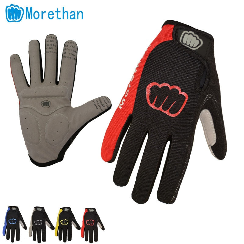 Cycling Gloves Full Finger Gel Bike Bicycle Racing Motorcycle Windproof Phone Touch Sports Gloves Accessories