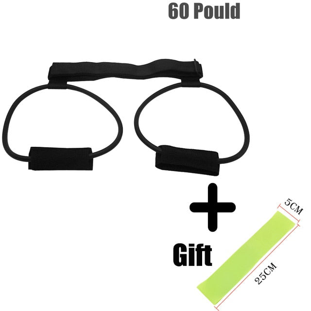 Fitness Exercise Booty Butt Band Adjustable Glute Workout Resistance Bands Crossfit Leg Muscle Strength Sport Training Bands