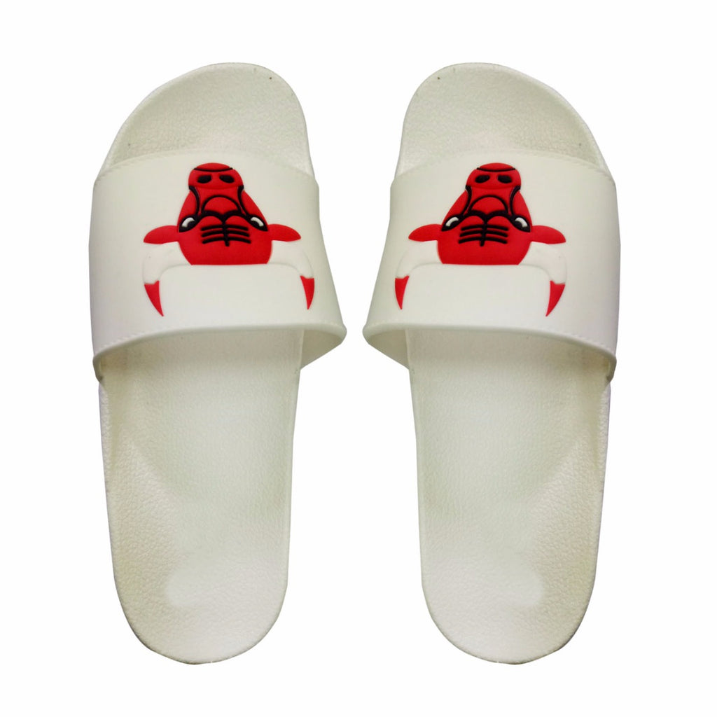 Attrix Bull slipper (white colour)