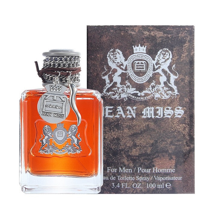 JEAN MISS Brand 100ML Men's Perfume Long Lasting Eau De Toilette For Male Spray Bottle Parfum Classic Fragrance Wild Perfume