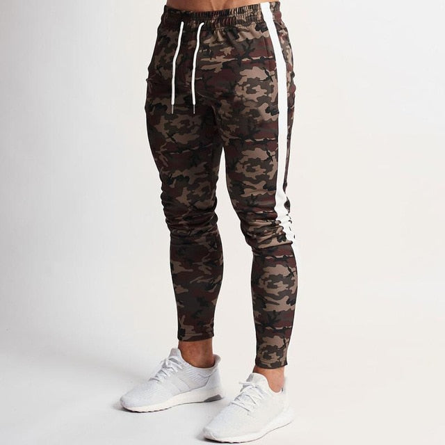 Joggers  Casual Pants Fitness Male Sportswear Tracksuit Bottoms Skinny Sweatpants Trousers Gyms Joggers Track Pants