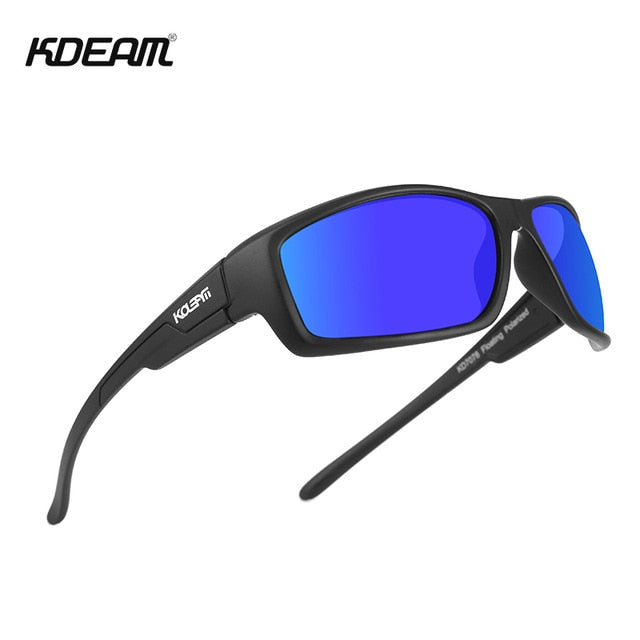 KDEAM Highly Performance Floating Polarized Sunglasses Men Sports Sun Glasses Perfect Companion for Any Active Waterman