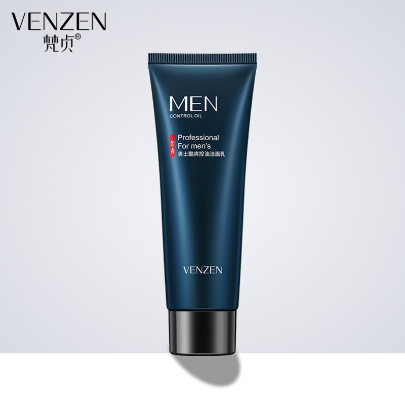 Men oil-control face cleaner pore cleaner face wash men facial cleanser Acne blackhead men pore-cleansing Whitening Moisturizing