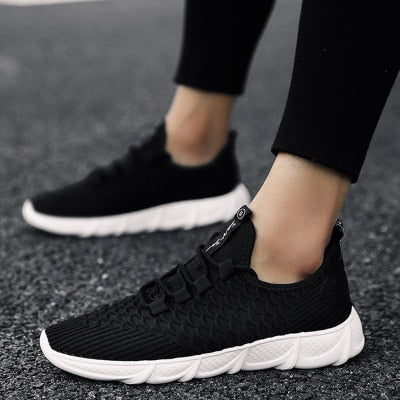Men's breathable and comfortable casual shoes fashion men's mesh shoes with wearable men's sports shoes zapatillas deportiva