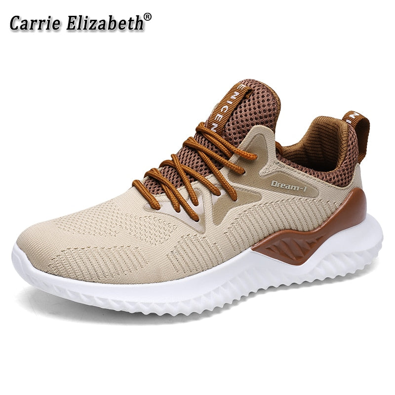 New Men's Running Shoes Fashion Casual Sport Shoes Sneakers Trainers  Shoes Alpha Light Male Air Mesh Breathable Shoes