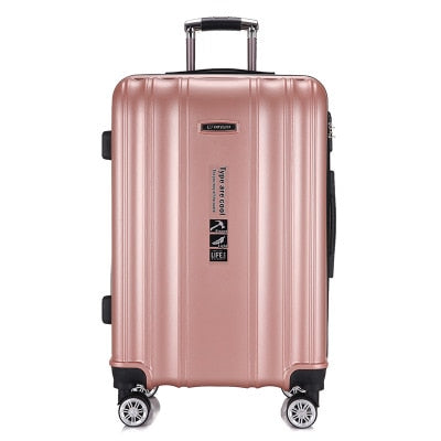 Rolling Spinner Luggage travel suitcase Women Trolley case with Wheels 20inch boarding Carry On Box business laptop Travel Bags