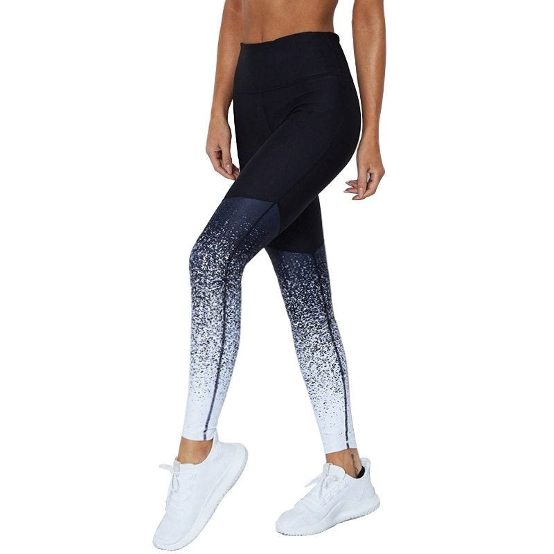 Sexy Workout Pants Compression Leggings Seamless High Waisted Leggings Ffor Women White Fall 2019 Workout Elastic Force Legging