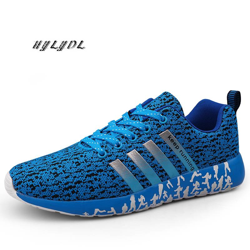 Shoes Men Casual Jogging Shoes Breathable Mesh Vamp Running Shoes Couple Outdoor Sneakers Light Trainer Sports Shoes Zapatos New