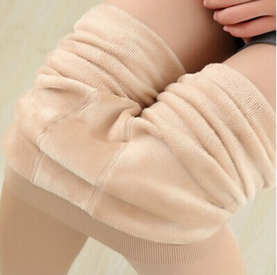 TOIVOTUKSIA 200g Winter New High Elastic Thicken Lady's Leggings Keep Warm Pants Skinny Pants Trend Knitting for Women