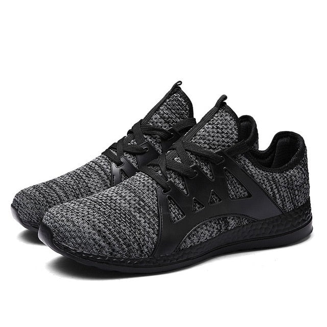 for adult man big size sneakers Outdoor walking jogging Trainer Athletic spring fall Breathable Mesh lace-up Sport Running shoes