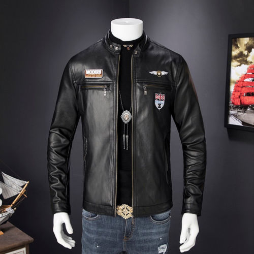Mens Leather Jackets Fall Winter Coat Men Faux Coats Biker Motorcycle Male Classic Jacket Top Quality Plus Size 3XL