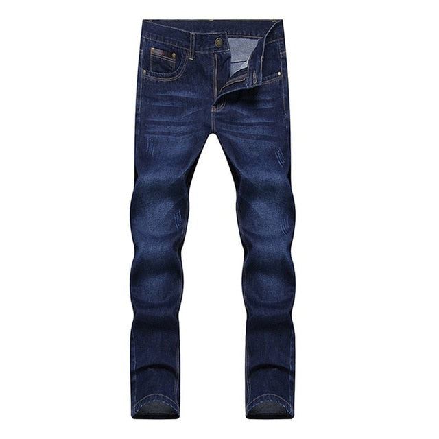 2019 four seasons New style men's casual High Quality Slim Fit Trousers elastic men Jeans Fashion Classic Denim Skinny Jeans men