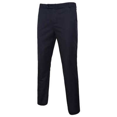 Formal nens Trousers Black and White Can Choose Men pant Size S-5XL Cotton and Polyester Fabrics pants men
