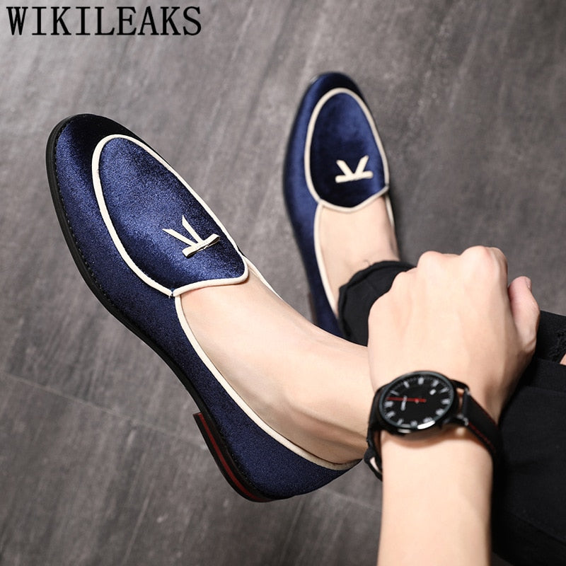 prom shoes men classic coiffeur formal shoes men elegant luxury brand men party shoes chaussure homme sepatu slip on pria bona