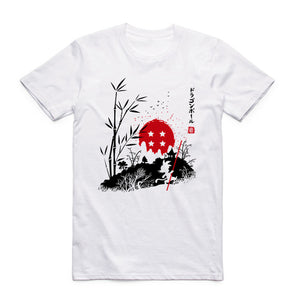 Son Goku Japanese Theme T-shirt