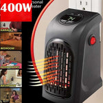 2 Pack Small Portable Heater Space Electric Mini Heating Room System