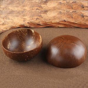 Hot Handcrafted Natural Asian Coconut Wooden Bowl