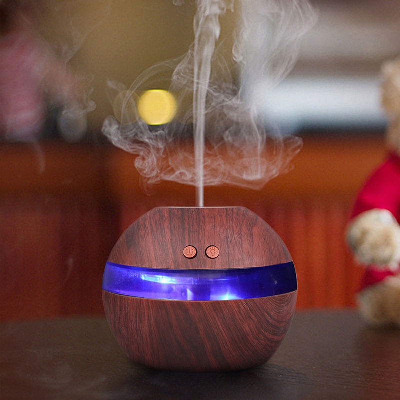 Beautifully Designed Ultrasonic Aroma Therapy Diffuser - Release Negative IONS
