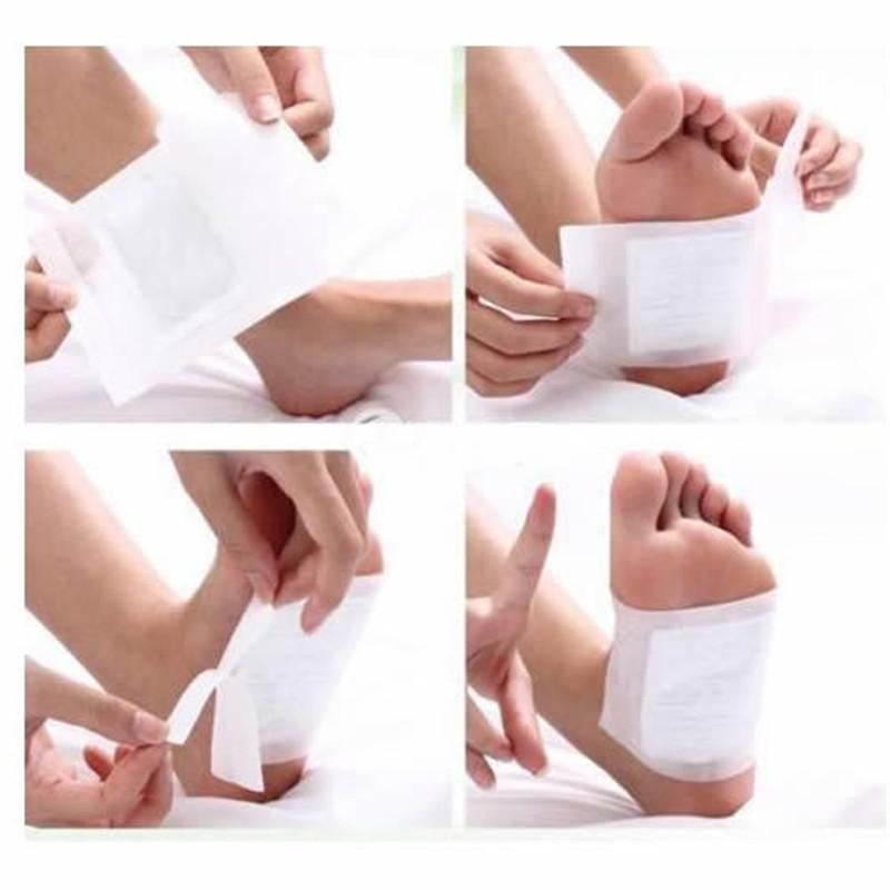 Authentic 100X Detox Foot Pads Patch Detoxify Toxins w/Adhesive Pain Relief