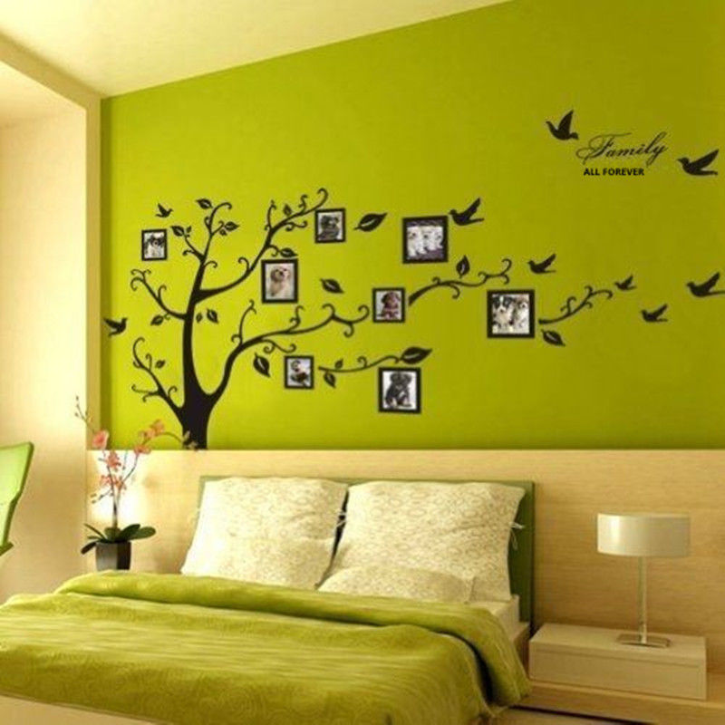 Beautiful Family Tree Wall Decal Mural Wall Art Removable For Home or Office Decor