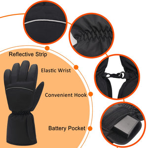 BATTERY HEATED GLOVES - Never Have Cold Hands During Winter