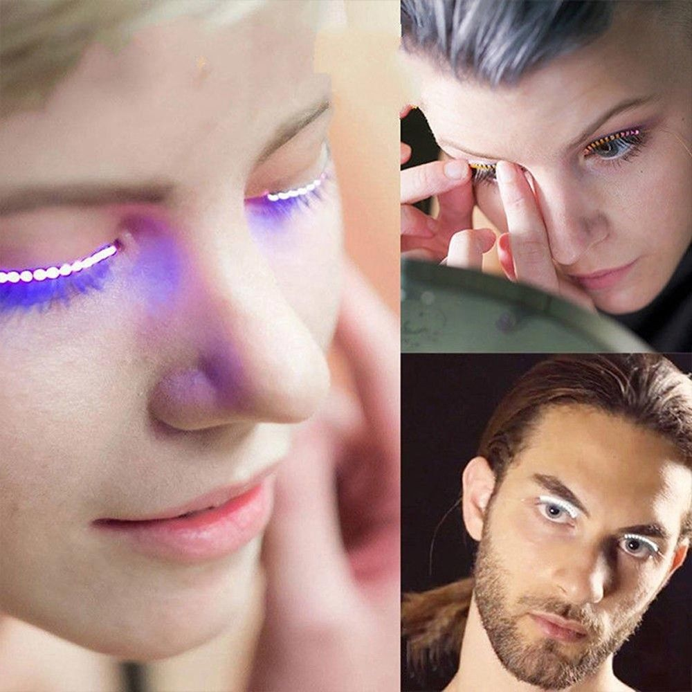 UltraLashes™ LED Light Up Eyelashes - Make yourelf stand out in the crowd.
