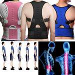 Magnetic Therapy Posture Corrector Support Back Shoulder Brace Belt UNISEX