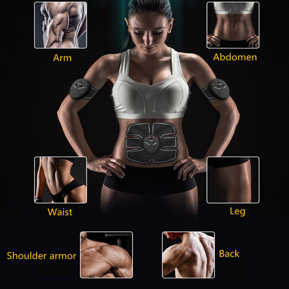 Six Pack Abs EMS Device For Getting Ripped Without Doing Tedious Ab Workouts - WATCH VIDEO