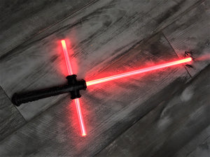 Kylo Ren Cross Guard Lightsaber Force FX Toy Saber Sword SPECIAL DISCOUNT