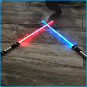 Cool Darth Maul Lightsaber Force FX Double Bladed Staff Toy Dual Sided Dark Saber Sword