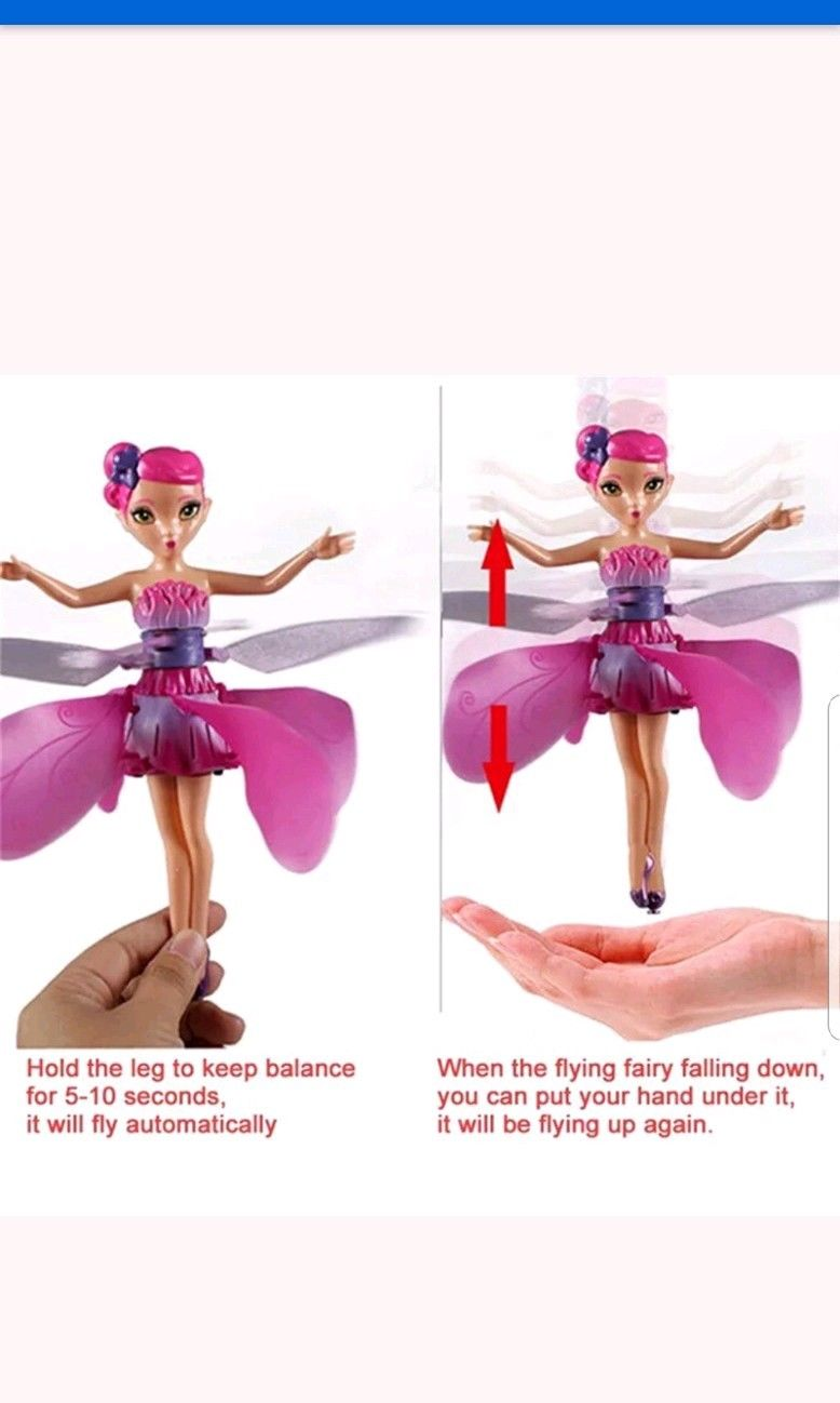 Flying Magical Fairy - WATCH VIDEO