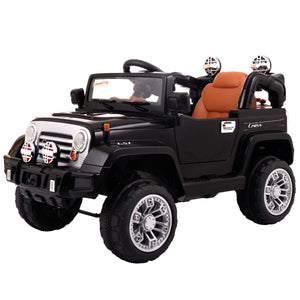 Kids Ride On Car Remote Control Jeep Electric Toys MP3 Music Led Light 12V