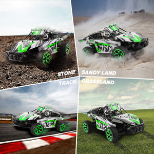 1:18 All Terrain RC Car High Speed 4WD Electric Vehicle 2.4G Off-road Truck