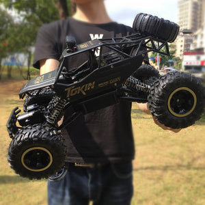 """THE MEGA MONSTER"" RC Rock Crawler Truck"