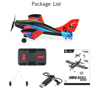 Remote Control RC Airplane 2.4G 2CH  EPP Mini Glider Drone
