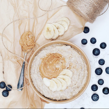 Banana & Peanut Butter Porridge
