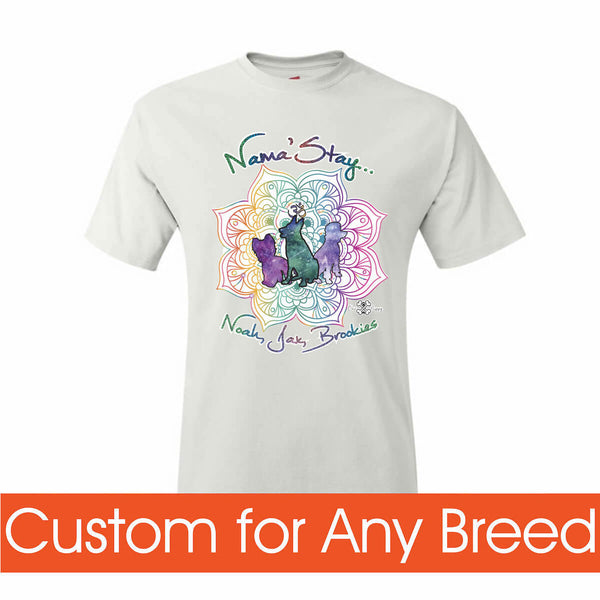 Matching Dog and Owner - Nama'Stay Pups - Youth Shirts - Youth