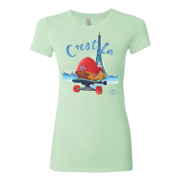 Matching Dog and Owner - C'est La Vie! - Women Shirts - Women